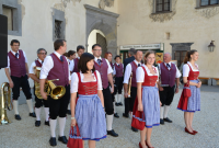 Die Loosdorfer Marktmusikkapelle sorgte für die musikalische Umrahmung des Festakts